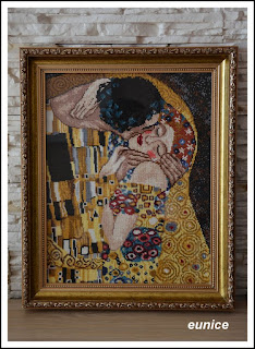 """Pocałunek"" Gustav Klimt"
