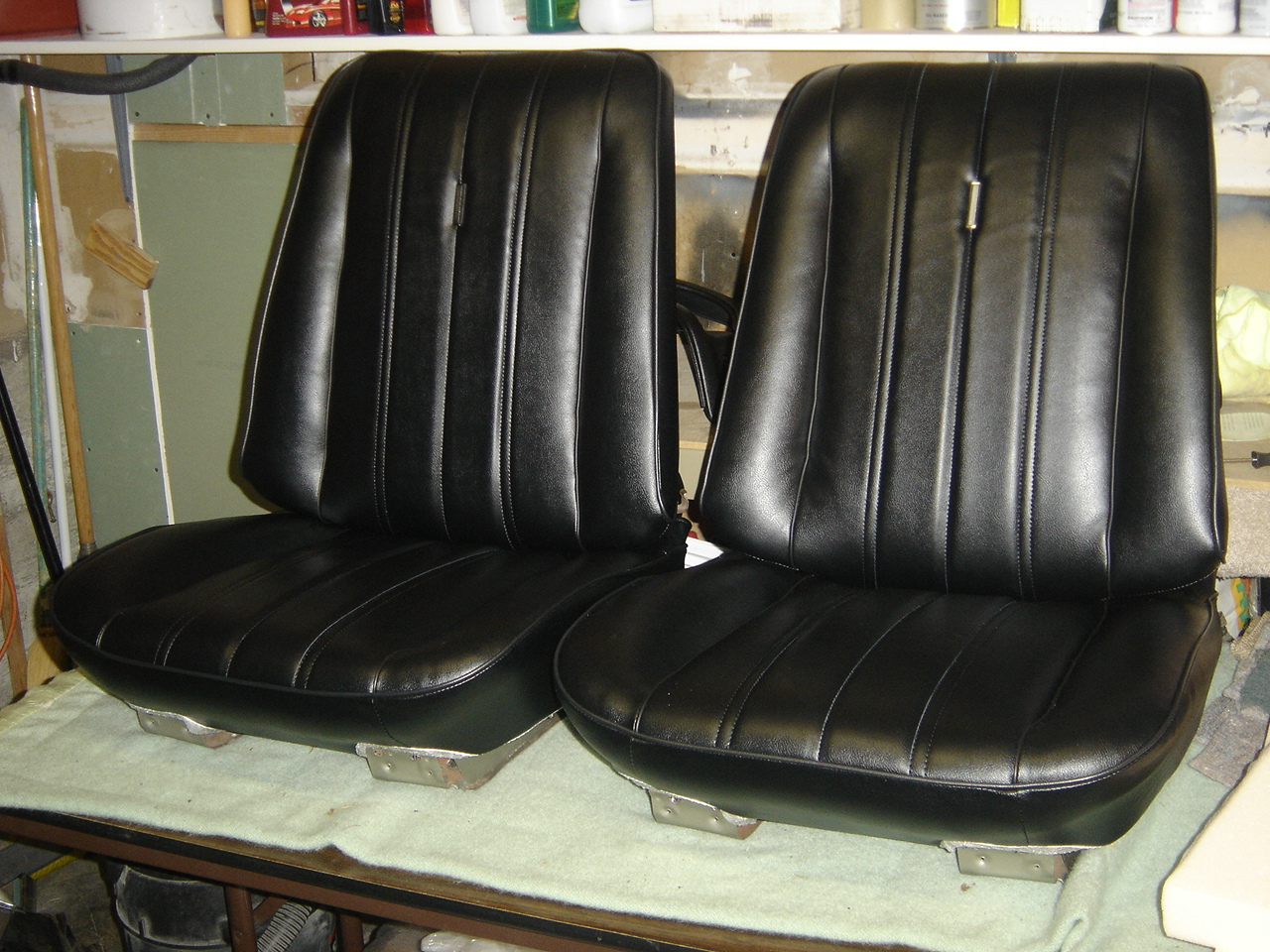 1966 Chevelle Bucket Seats & Rear Seat | Classic Seat