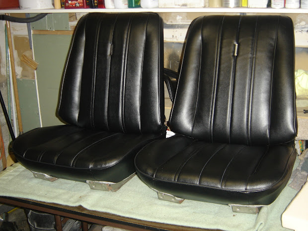 1966 Chevelle Bucket Seats & Rear Seat Classic