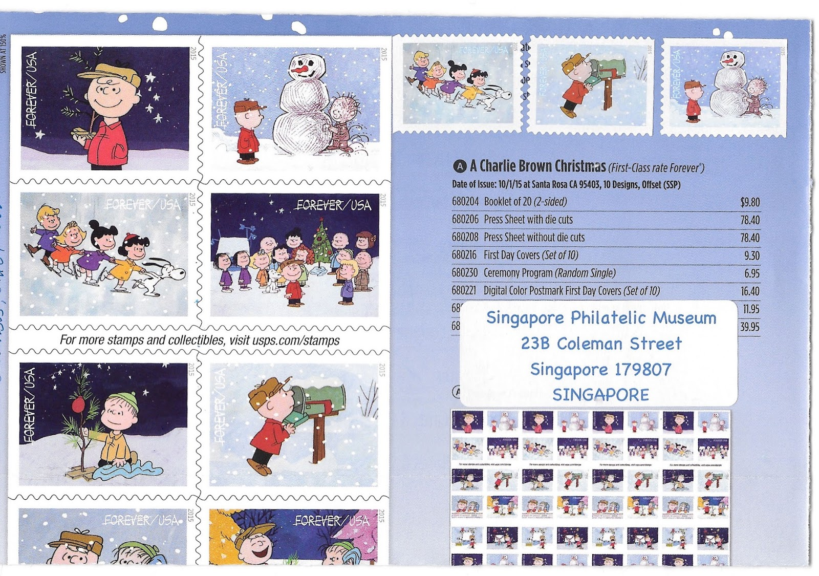envelope 100: Cartoon characters for Sunday Stamps