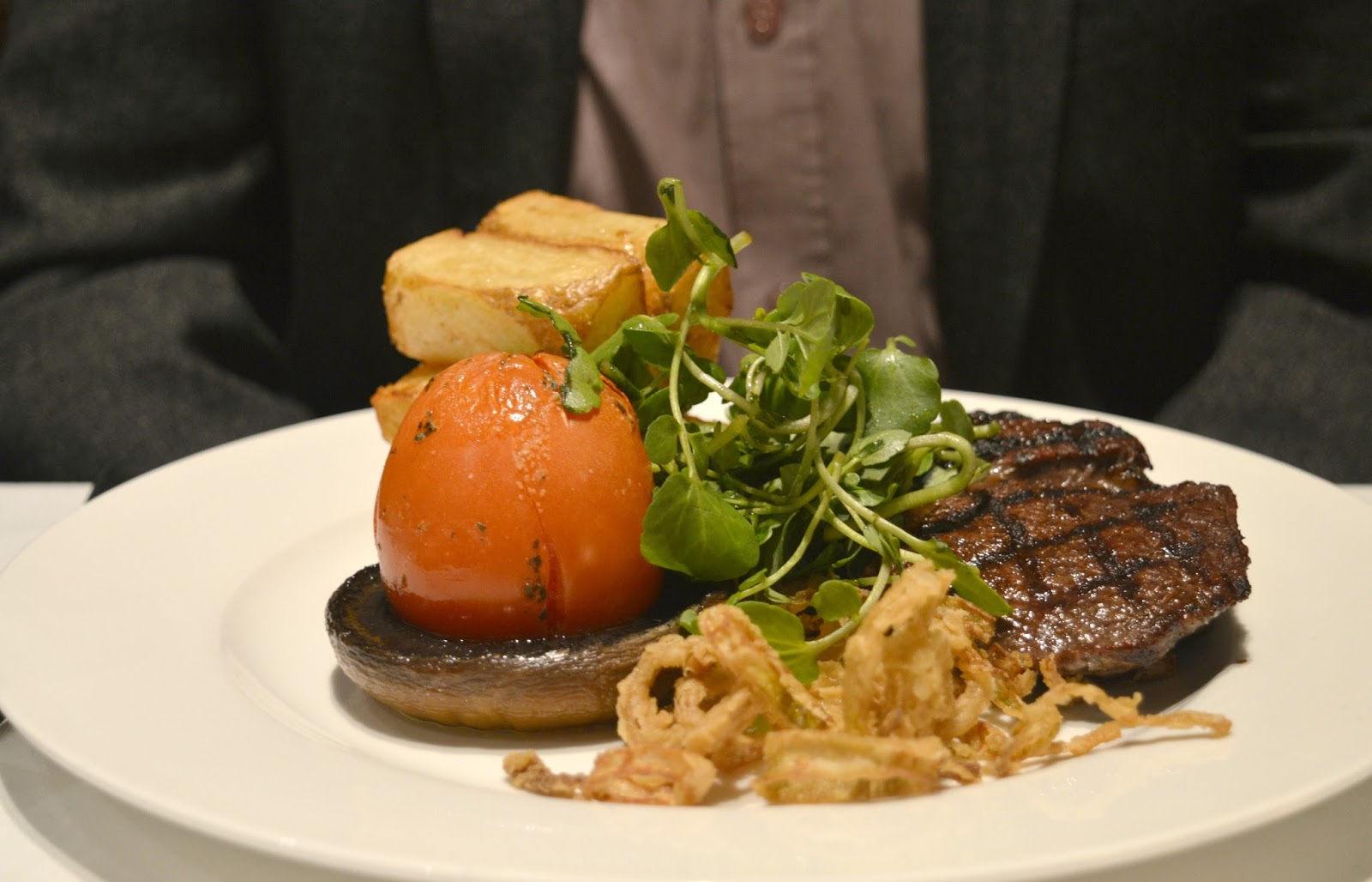Matfen Hall, Northumberland - Rib Eye Steak