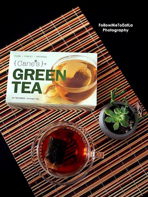 GREEN TEA CANE'S TEA To Stay Health-TEA