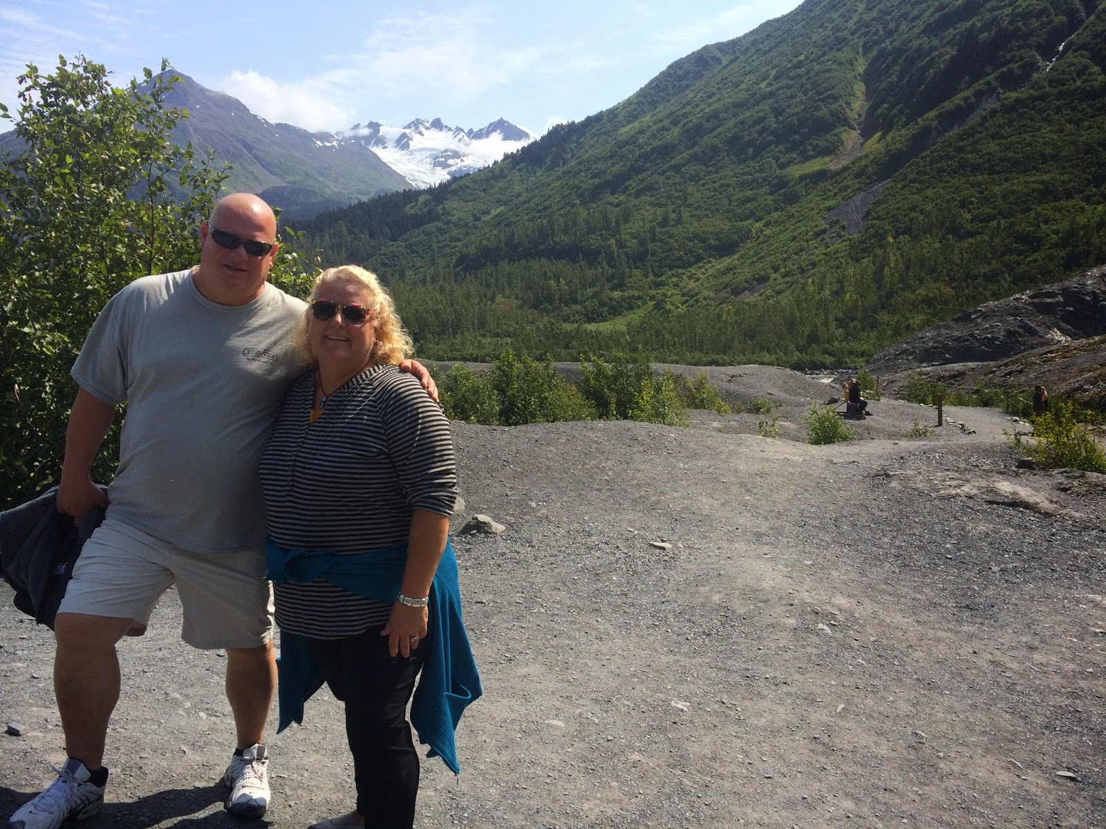 The Hall S Day To Day In Ak John And Joni Visit Alaska
