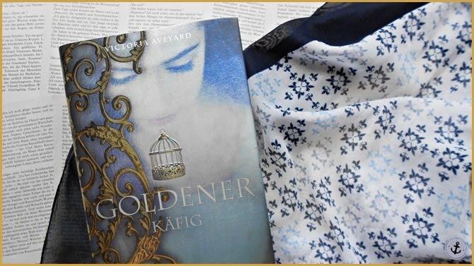 Rezension Die Farben des Blutes Goldener Käfig Victoria Aveyard Carlsen