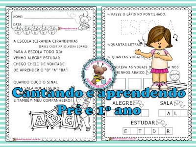 1º ano, Amorensina, Atividades 1º ano, Atividades de Alfabetização, Atividades de alfabetização 1 ano, atividades educação infantil, Atividades para imprimir grátis, Educação Infantil,