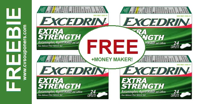 FREE Excedrin CVS Couponers Deal 6-16 6-22