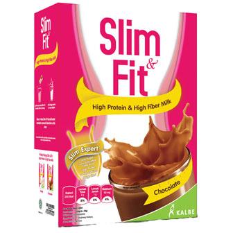 slim and fit rasa coklat