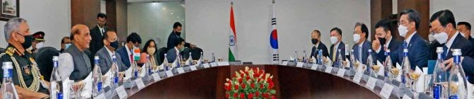 India, South Korea To Strengthen Bilateral Military Ties
