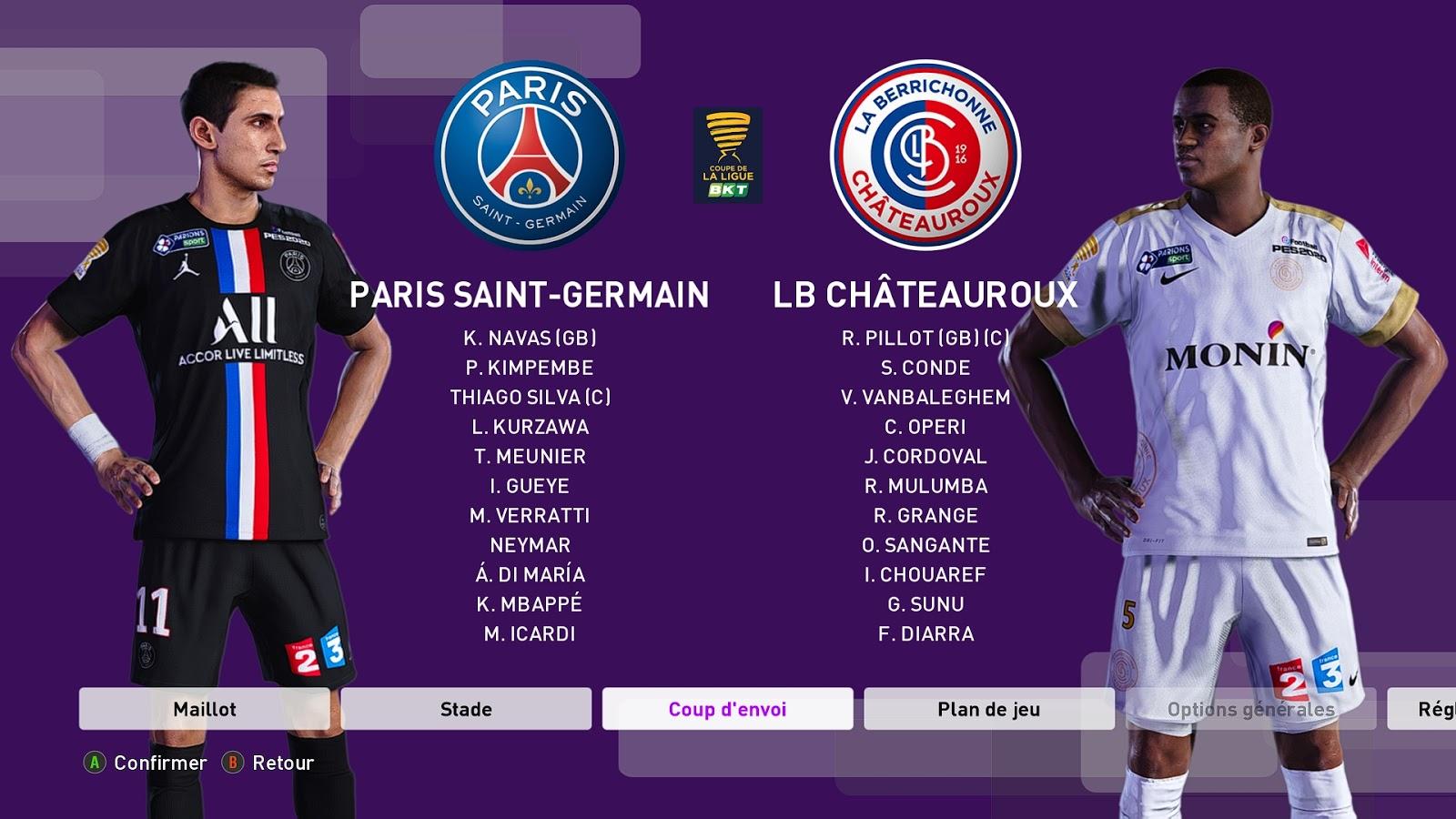 PES 2020 Kitpack Ligue 1/Ligue 2 For Kitserver 2020 By