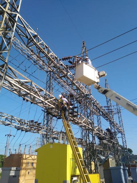 APURE: Corpoelec ejecutó mantenimiento preventivo en Subestación San Fernando I 115 kVA.