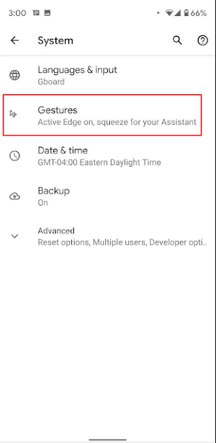 How to Enable Android 10 new swipe Gestures navigation