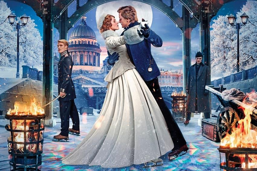 Канал «Кинопремьера» покажет сказку «Серебряные коньки» - впервые на российском телевидении