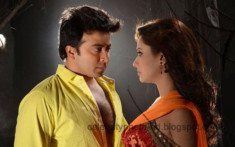 Shakib Khan & Bobby Latest Hot Photos From Rajotto movie 2014