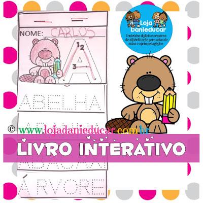 Alfabeto, Alfabetização, Educação Infantil, Atividade interativa, Alfabeto pontilhado