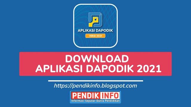 aplikasi dapodik 2021