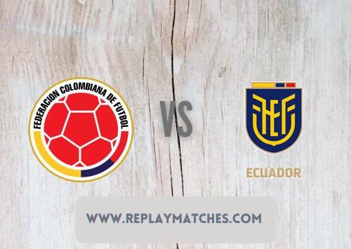 Colombia vs Ecuador  Highlights 14 June 2021