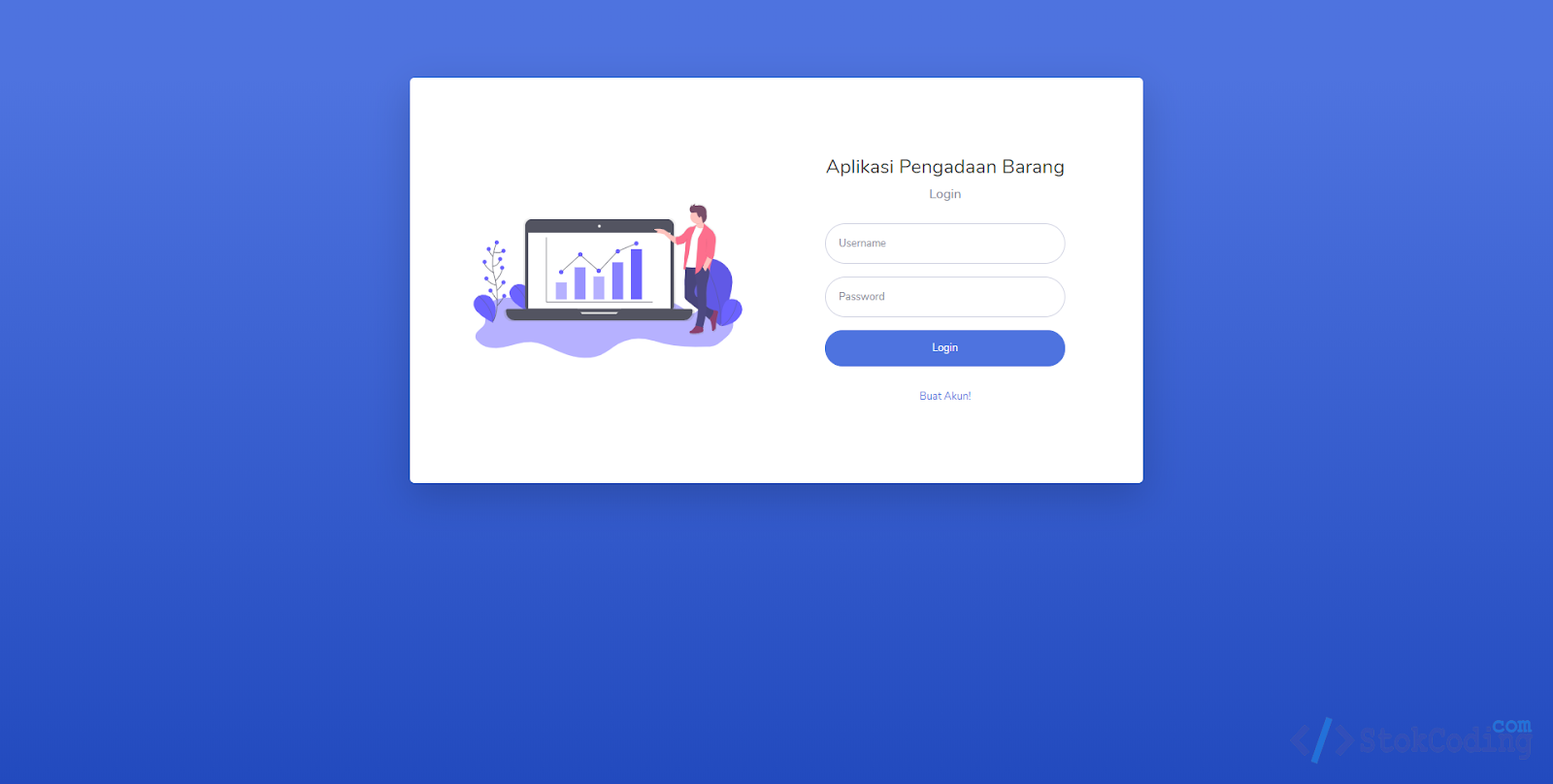 Aplikasi Pengadaan Barang Berbasis Web (Codeigniter)