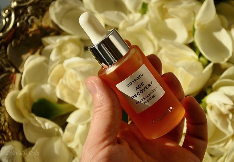 MÁDARA Superseed Age Recovery Organiczny Olej do twarzy przeciwzmarszczkowy