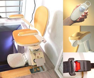Acorn Superglide to krzesełko wyposażone w joysticki, pilota i pasy bezpieczeństwa