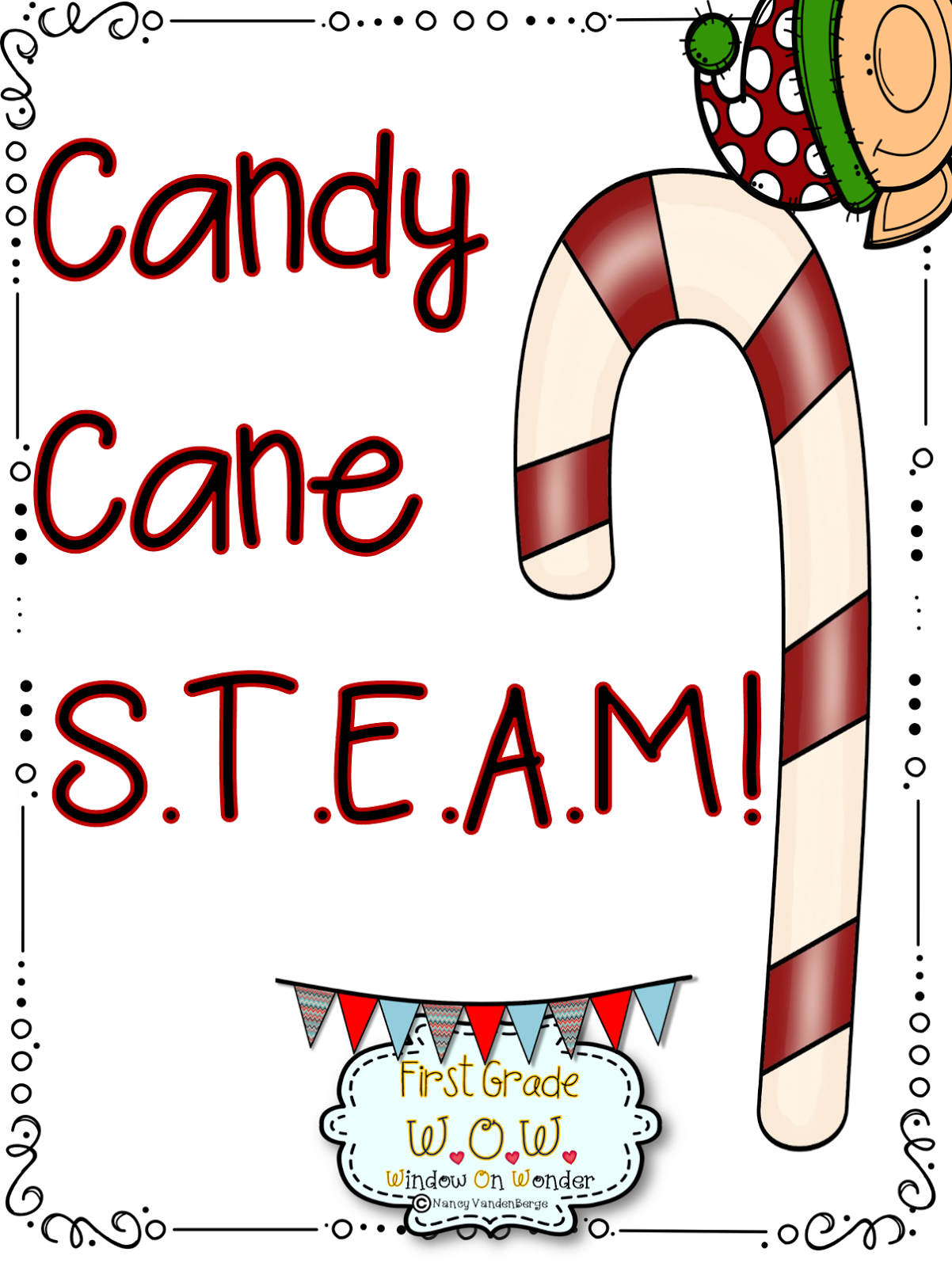 First Grade Wow Candy Cane Steam