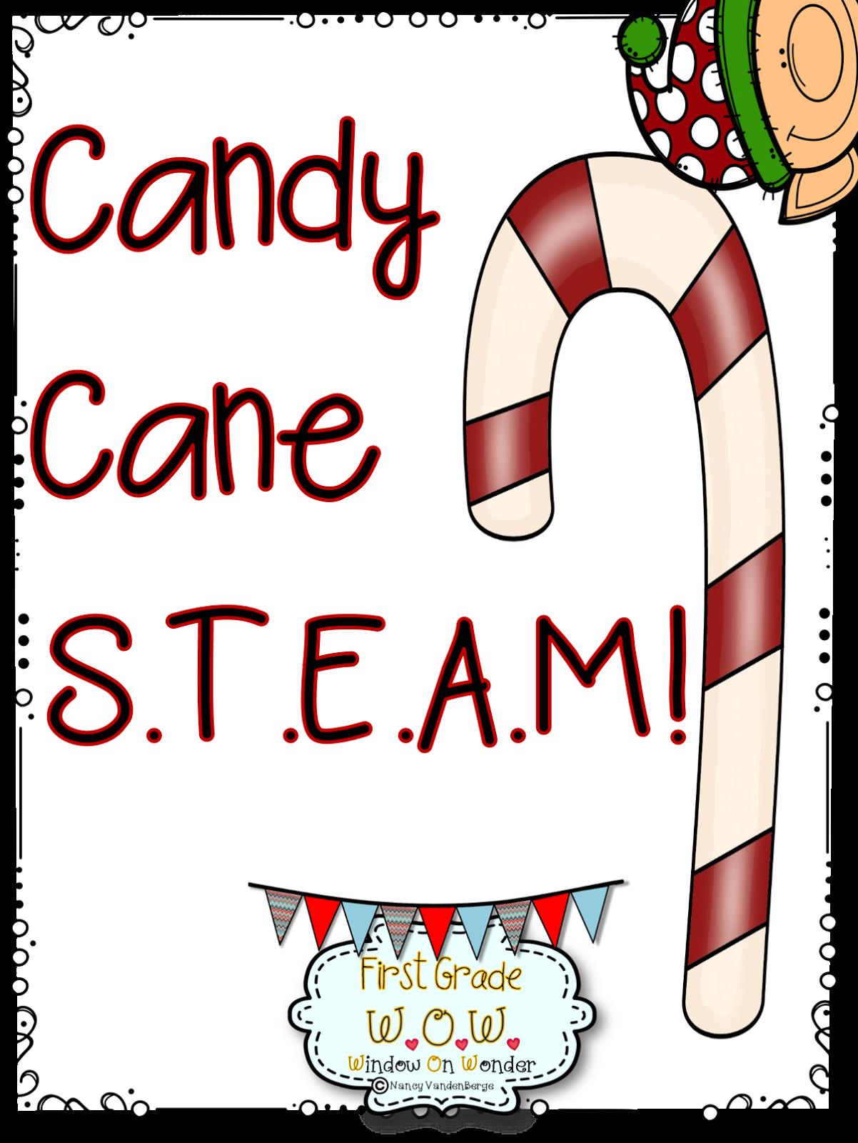 First Grade Wow Candy Cane Steam