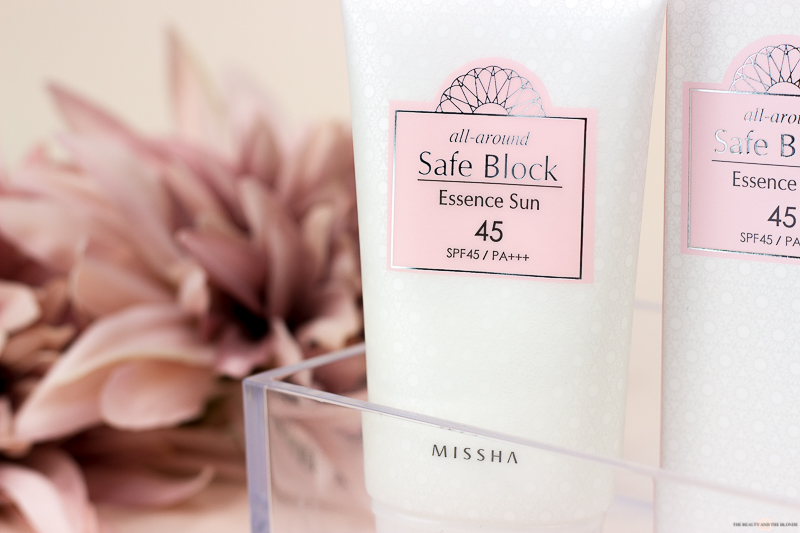 Missha All Around Safe Block Essence Sun 45