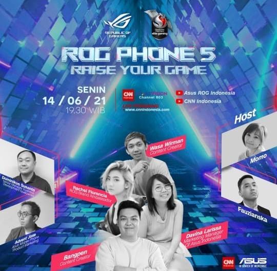 Launching ROG Phone 5, Dapatkan ROG Phone 5 Gratis!