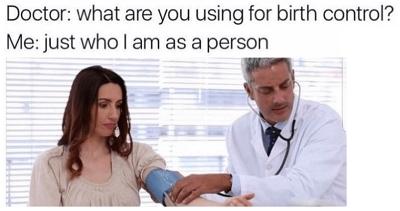 meme about birth control