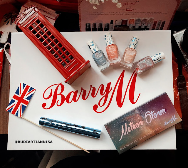 BARRY M COSMETICS VEGAN DAN CRUELTY FRIENDLY