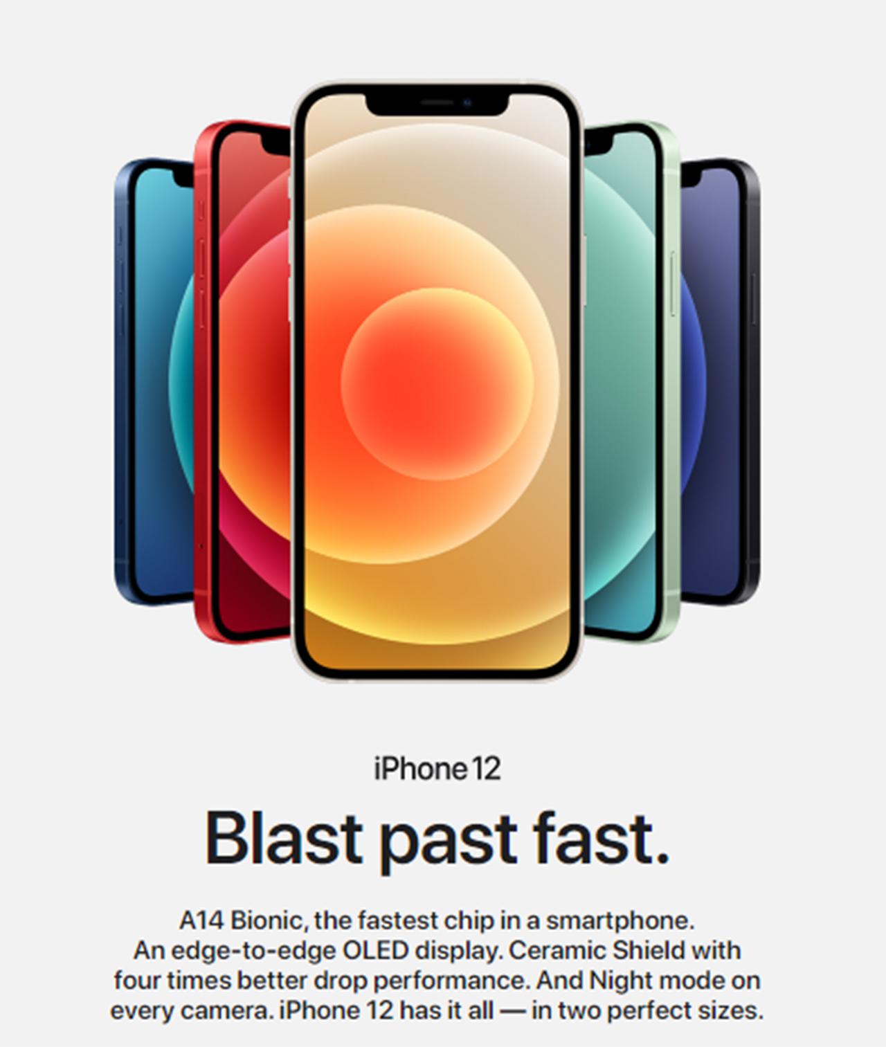 Rekaan Serba Baharu dan Warna Baharu (siri iPhone 12 Pro dan 12 Pro Max)
