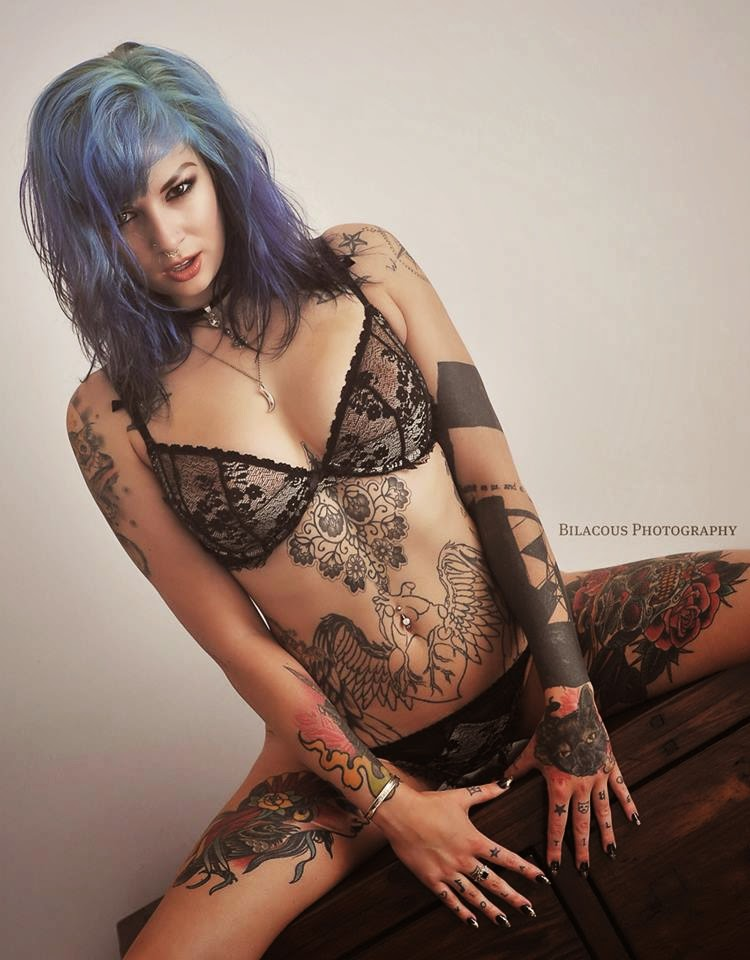 Rebecca Crow (Katherine Suicide) | Sexy Tattooed Girls