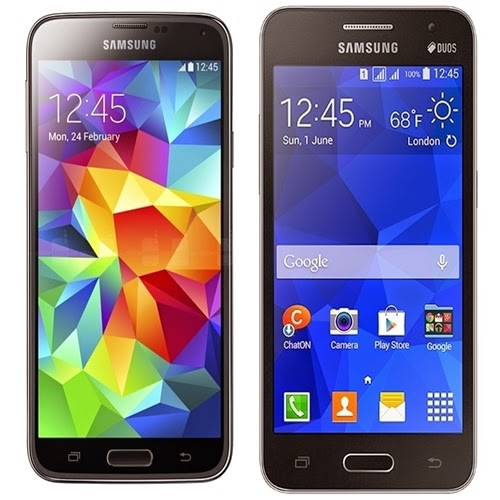 Galaxy S5 Duos e Core 2 custarão R$ 2.599 e R$ 699.