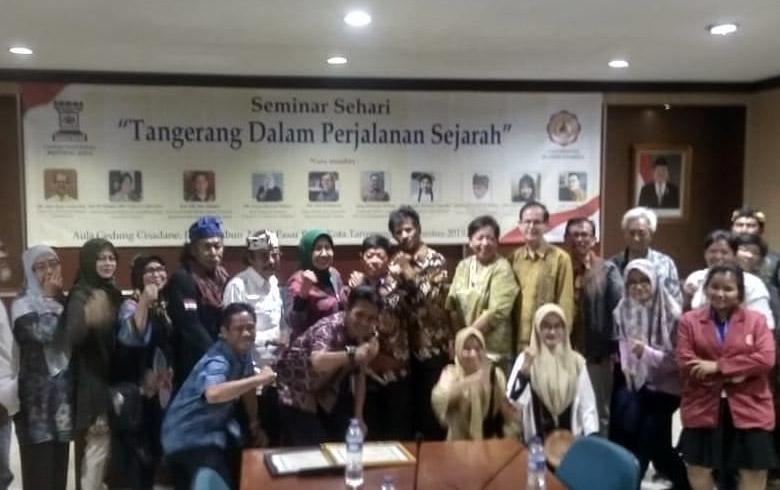 """Seminar Sehari : """"Tangerang Dalam Perjalanan Sejarah"""""""