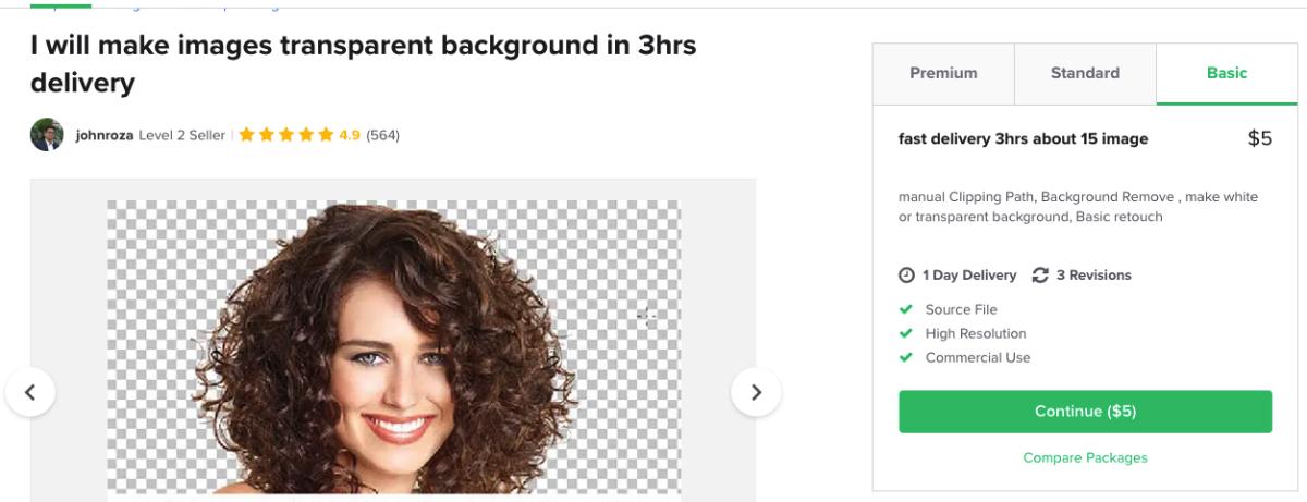 Cara mendapatkan uang online melalui jualan jasa editing foto