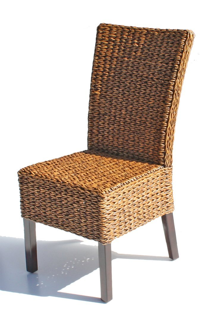 Rattan Best Rattan Cabo Seagrass Dining Chair | Rattan Dining Chairs