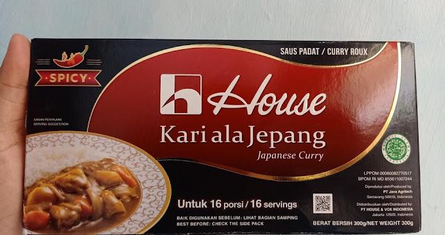 label halal house kari ala Jepang