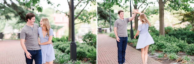 Summer Sunset Engagement Session in Downtown Annapolis, Photos by Heather Ryan Photography