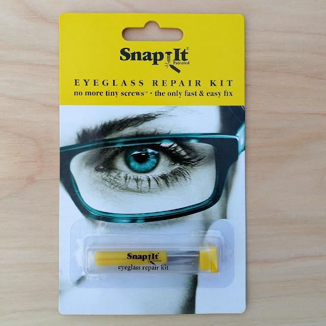 SnapIt eyeglass repair kit #win #giveaway #ad #eyeglassfix