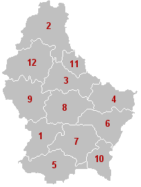 Kanton di Luxemburg