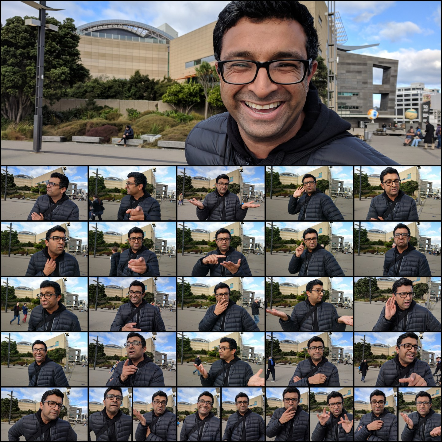 The many faces of Raj Khushal