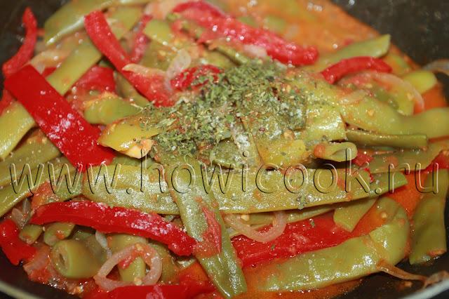 рецепт зеленого лобио с пошаговыми фото