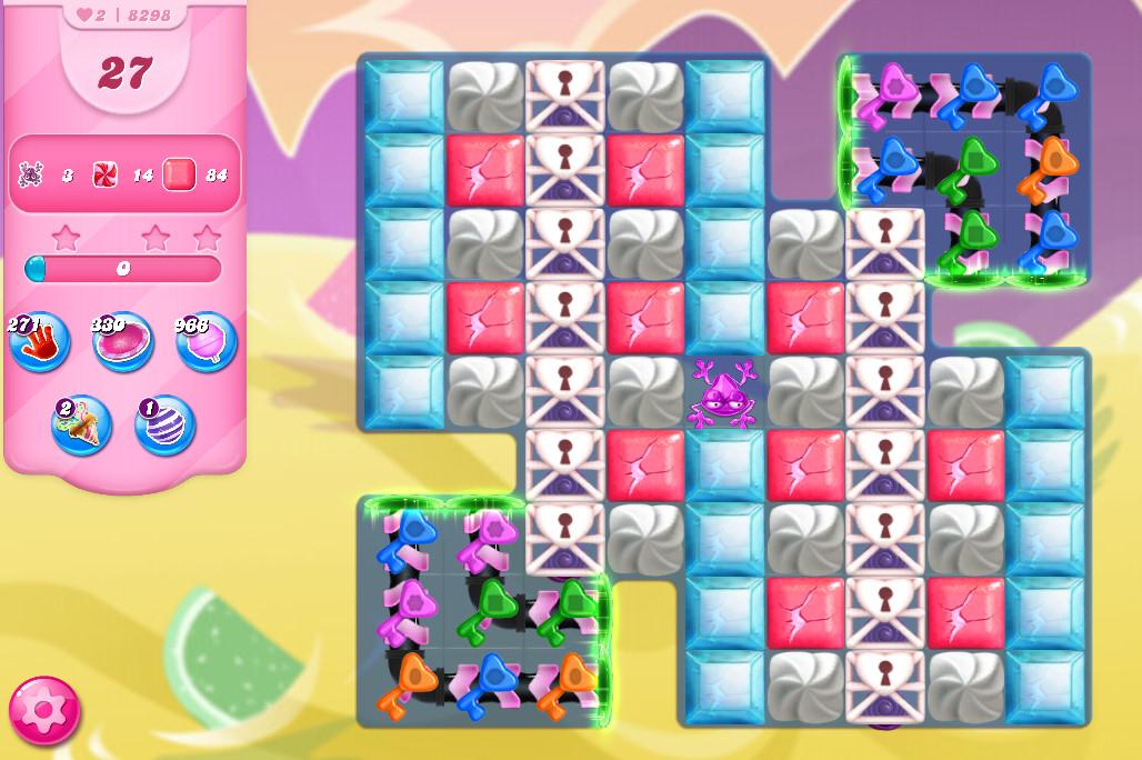 Candy Crush Saga level 8298