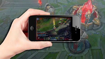 League of legends en teléfonos mobiles