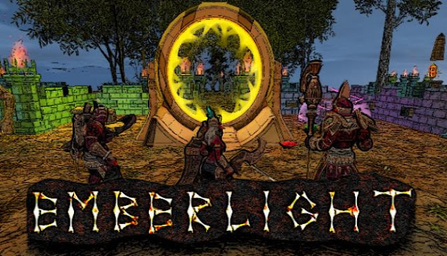 Emberlight — another game with elements of a bagel in which we have to go down deep below the lands of the once flourishing world, and the main character was endowed with a gift from the Gods, which simultaneously serves him and a curse.
