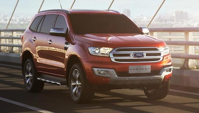 Ford Everest 2016 đạt chuẩn an toàn 5 sao