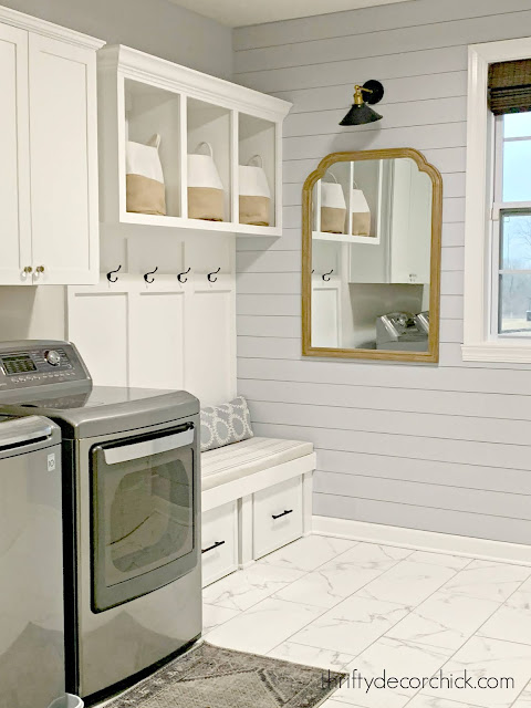 laundry mud room combo