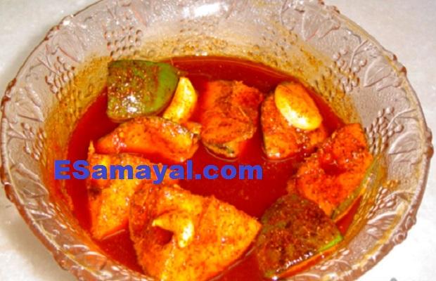 ஆவக்காய் ஊறுகாய் செய்முறை / Avakkay Pickle Recipe !
