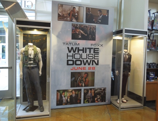 White House Down movie costumes