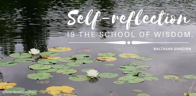 Self-reflection is the school of wisdom. - B. Gracian