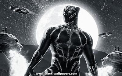 4k black panther wallpaper